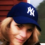 Patti on the patio