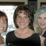 Joan Hanson, Kathy Krauter, Patti Patton