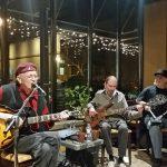 Lonnie, Reid Papke, Scott Sansby-Riverview Cafe 2017