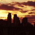 Sunset in Minneapolis